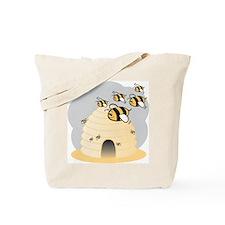 Honey Bees Tote Bag