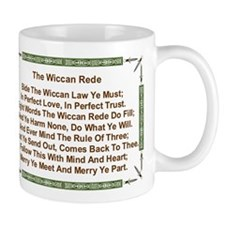 Balanced Wiccan Rede Small Mug