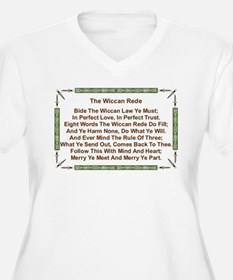 Balanced Wiccan Rede T-Shirt