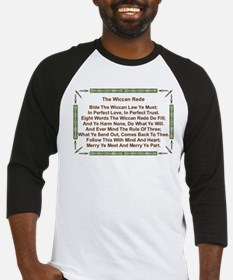 Balanced Wiccan Rede Baseball Jersey