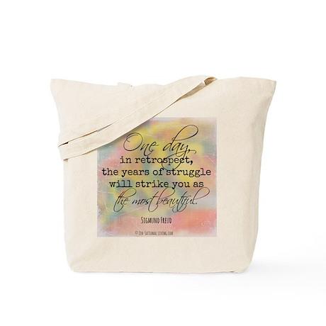 Struggle Quote Tote Bag
