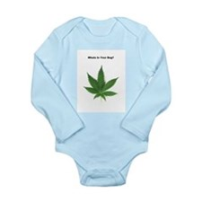 Whats in your bag? Long Sleeve Infant Bodysuit