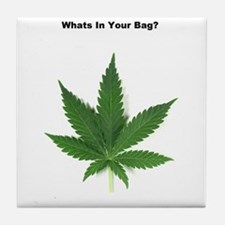 Whats in your bag? Tile Coaster