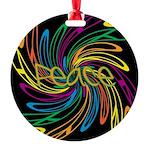 Peace Symbols Ornament