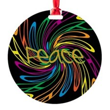 Peace Symbols Ornament