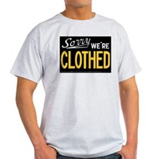 Sorry CLOTHED T-Shirt