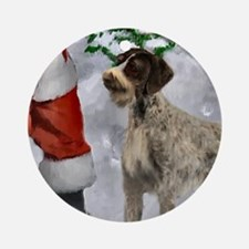 German Wirehaired Pointer Ornament (Round)
