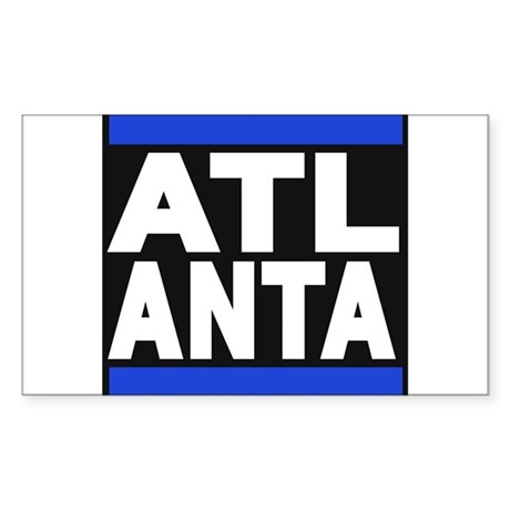 atlanta blue Sticker