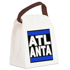 atlanta blue Canvas Lunch Bag