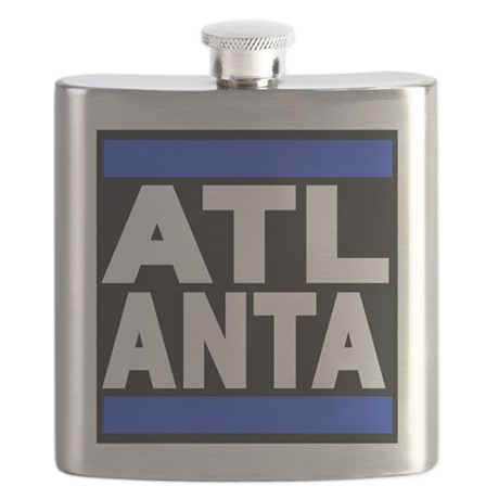 atlanta blue Flask