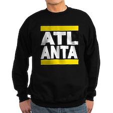 atlanta yellow Sweatshirt
