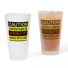 HOT STUFF Drinking Glass