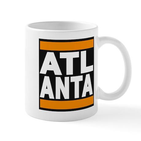 atlanta orange Mug