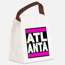 atlanta pink Canvas Lunch Bag