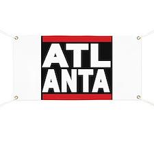 atlanta red Banner