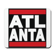 atlanta red Mousepad