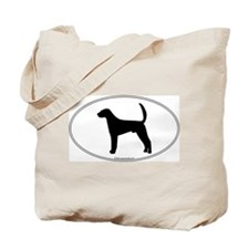 Am Foxhound Silhouette Tote Bag
