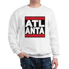 atlanta red Sweatshirt