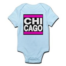 chicago pink Body Suit
