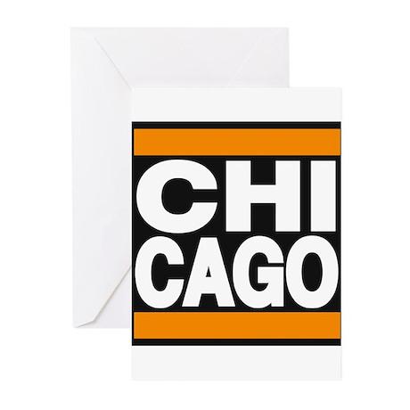 chicago orange Greeting Cards (Pk of 10)