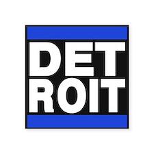 detroit blue Sticker