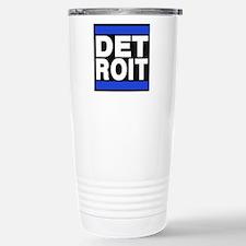 detroit blue Travel Mug