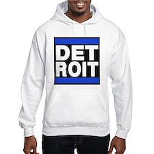 detroit blue Hoodie