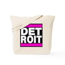 detroit pink Tote Bag