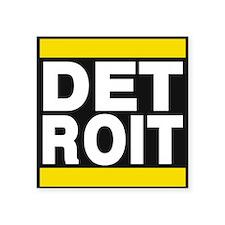 detroit yellow Sticker