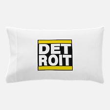detroit yellow Pillow Case