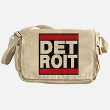 detroit red Messenger Bag