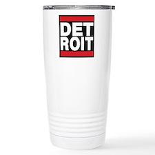 detroit red Travel Mug
