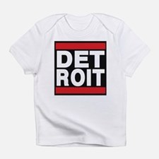 detroit red Infant T-Shirt