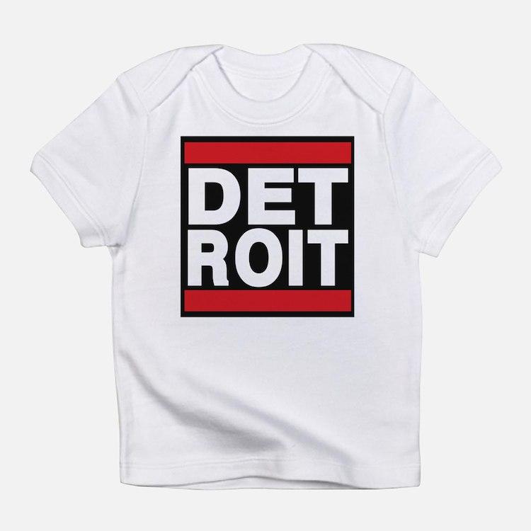 detroit red Infant T-Shirt