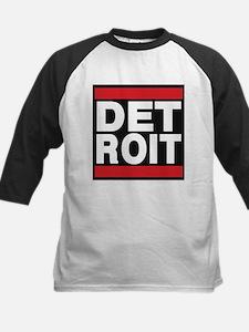 detroit red Baseball Jersey