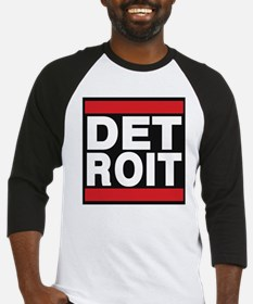 detroit red Baseball Jersey