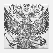 Byzantine Eagle Tile Coaster
