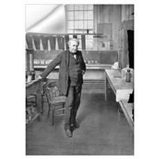 Thomas Edison, US inventor Wall Decal