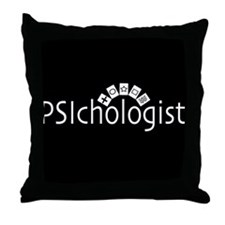 PSIchologist Throw Pillow