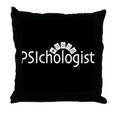 PSIchologist Throw Pillow