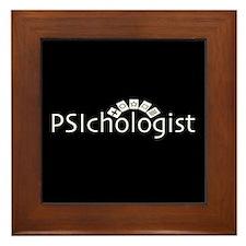 PSIchologist Framed Tile