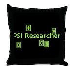 PSI Researcher Throw Pillow