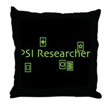 PSI Researcher Throw Pillow