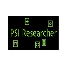 PSI Researcher Rectangle Magnet