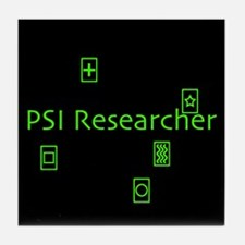 PSI Researcher Tile Coaster