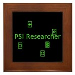 PSI Researcher Framed Tile