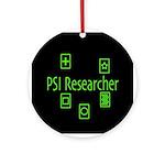PSI Researcher Ornament (Round)