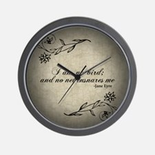 Cute Charlotte Wall Clock