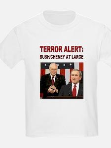 Ash Grey Tee- Terror Alert - Bush Still at T-Shirt