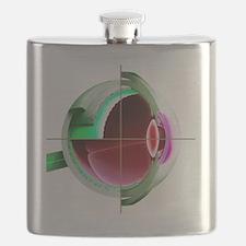Flask - Human eye